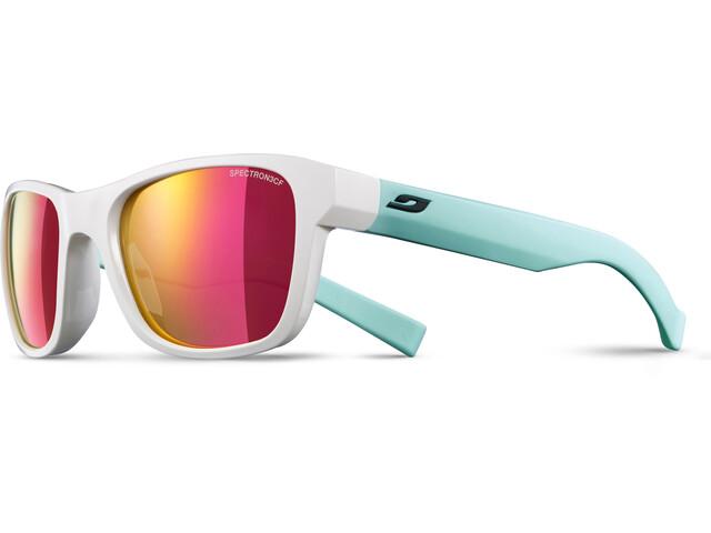Julbo Reach L Spectron 3CF Sunglasses Junior 10-15Y White/Green-Multilayer Pink